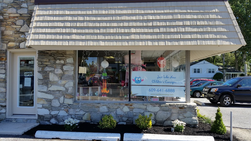 The shop is located at 1344 Tilton Road in Northfield, near the busy intersection of Tilton Road and Route 9.