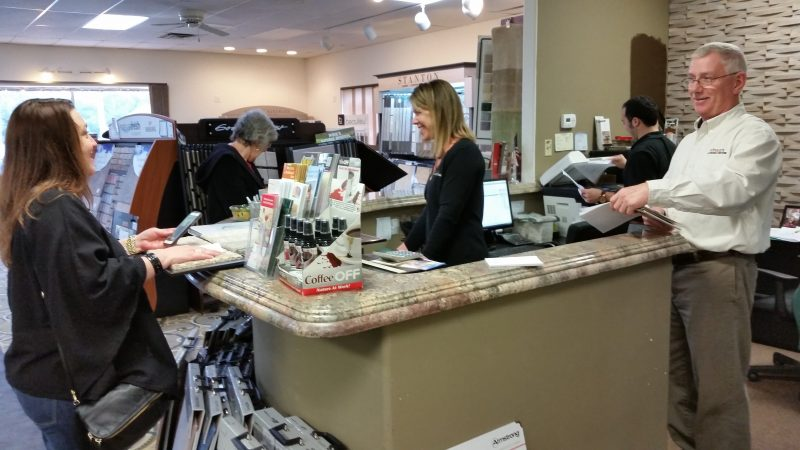 Customer service is touted as a hallmark of the store.